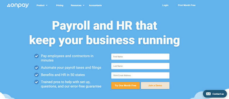 Onpay for Small Businesses with the Simplest Setup
