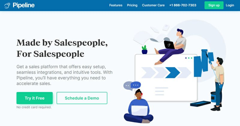PipelineDeals for customers who need a seamless and easy to setup system