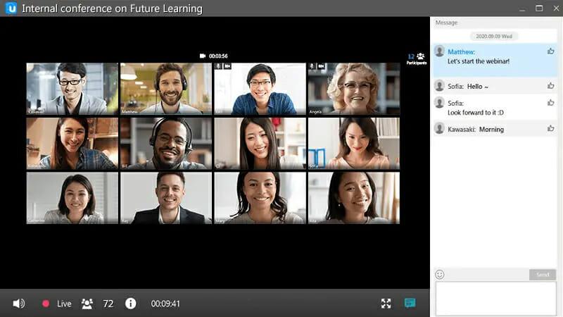 video conferencing software is a digital business communication platform