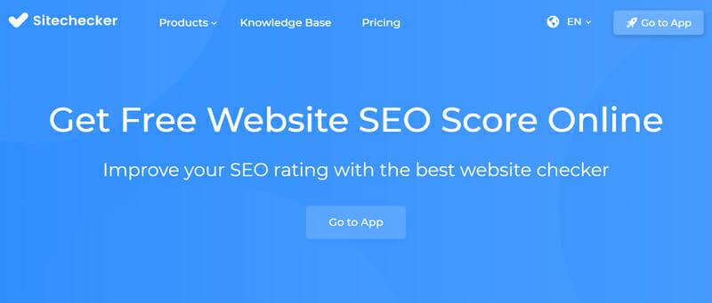 Sitechecker SEO audit tool