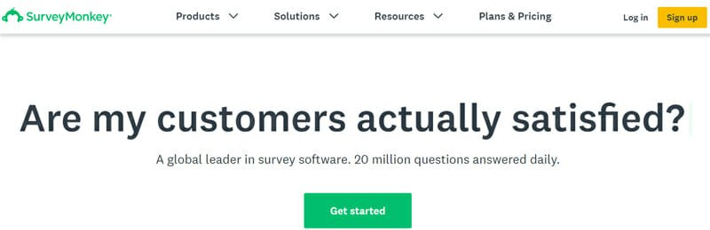 SurveyMonkey Best Online Survey Software for CX, HR, IT and Marketing Specialists