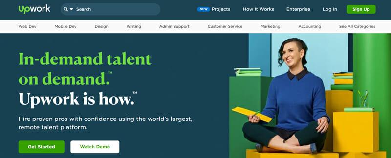 Upwork find freelancing jobs