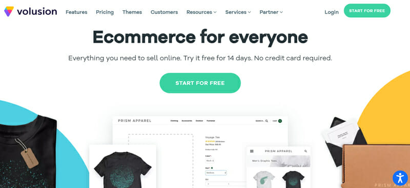 Volusion The Best Value for Money eCommerce Platform with Amazing Features.