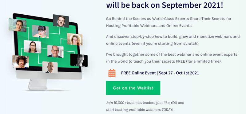 Webinar Mastery Summit