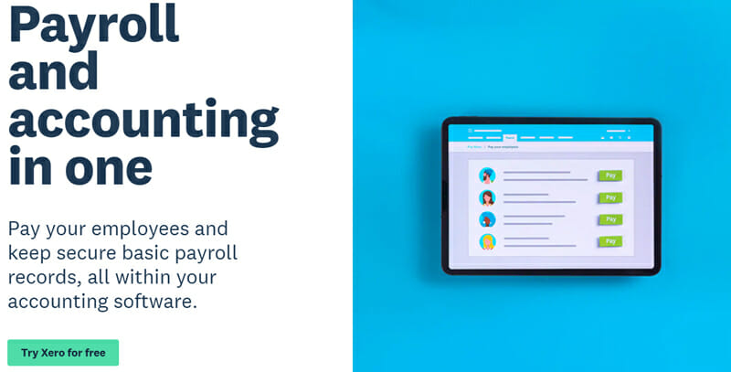Xero All in All Payroll and Accounting Software Solution