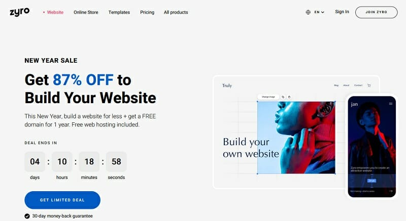 Zyro - Simple, Affordable, and AI Website Builder