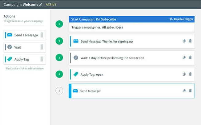 AWeber Email Automation Feature