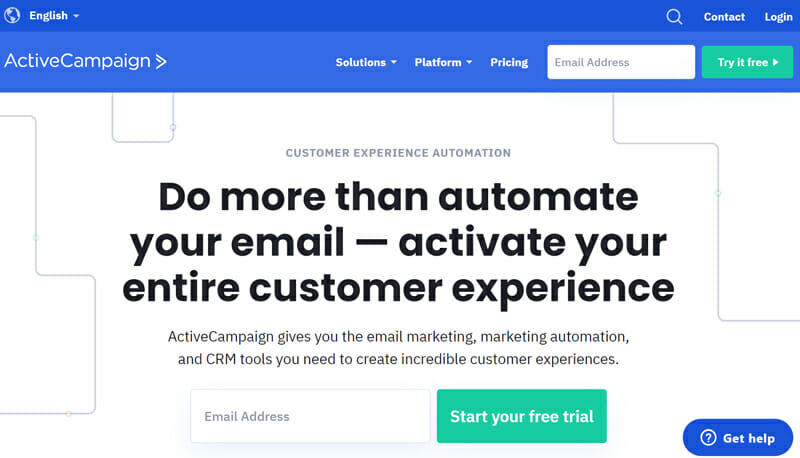 ActiveCampaign is Budget Friendly Mailchimp Alternative Providing Professional Email Marketing Solutions to Every Business Model