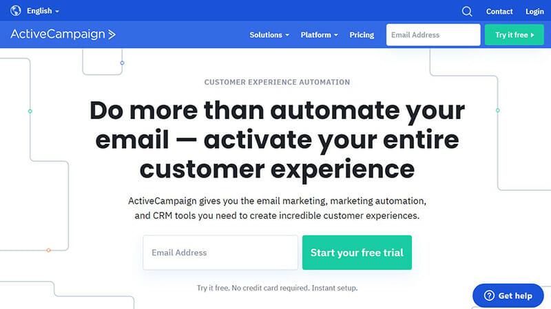ActiveCampaign is the Solid Marketing Solution for Marketers and Small Businesses.