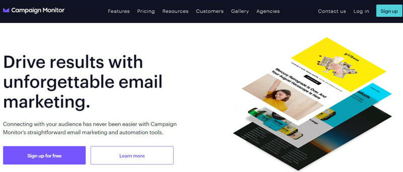 Campaign Monitor is The Best Email Newsletter Software for Email Marketing Agencies