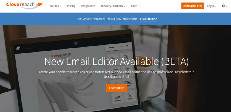 CleverReach is The Best Email Newsletter Software for Contact Segmentation