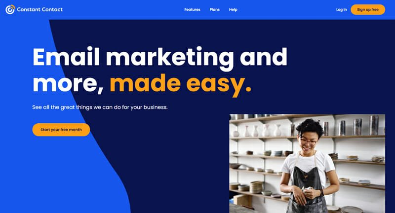 Constant Contact is a Solid Email Marketing Platform with Social Media Integrations for Small Businesses