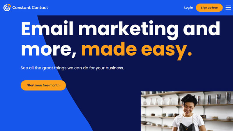 Constant Contact is the best HubSpot Alternative for Email Marketing Automation