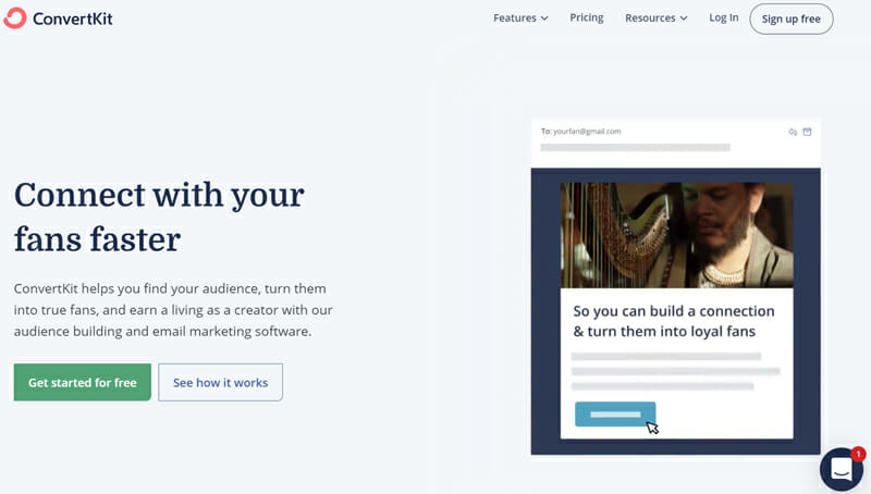 ConvertKit is the Most Popular Subscriber based Email Marketing Platform for Freelancers and Content Creators