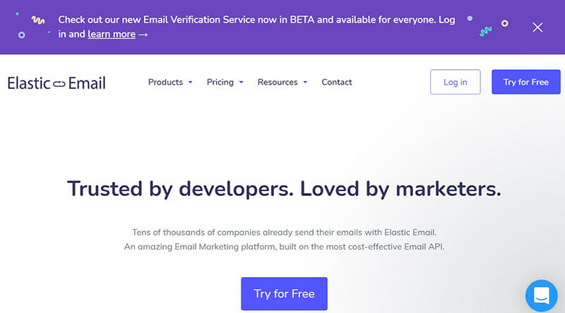 Elastic Email is the best bulk email service with a very easy to use interface.