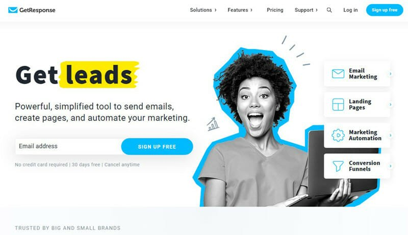 GetResponse is The Best Email Newsletter Provider with Inbound Marketing Solutions