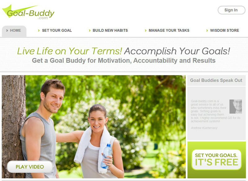 Goal Buddy is the best for Financial Goal Setting platform.