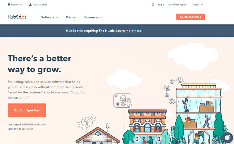 HubSpot is All in One Email Marketing Platform with Inbound Marketing and Sales Features for Every Business Level
