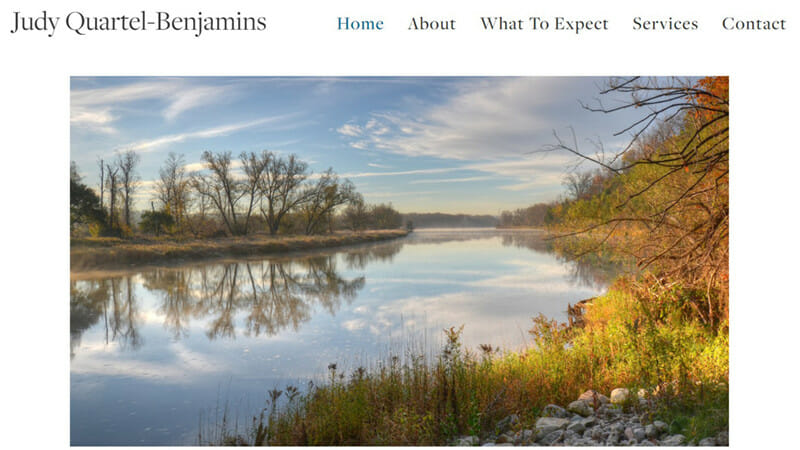 Judy Quartel Benjamins is a website of a Psychotherapist providing support to people in need.