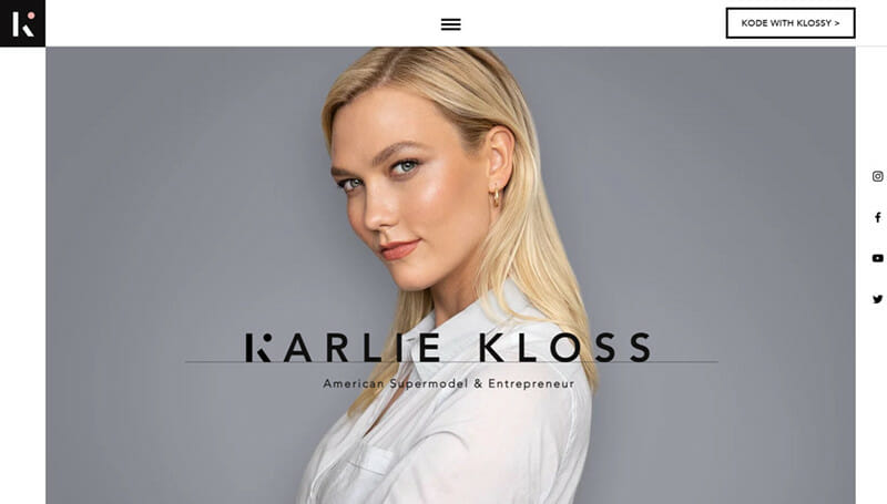 Karlie Kloss is a website of a Famous supermodel and entrepreneur aiming to change the world.