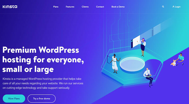 Kinsta is the best Bluehost Alternative for Sites with a Focus on Security.