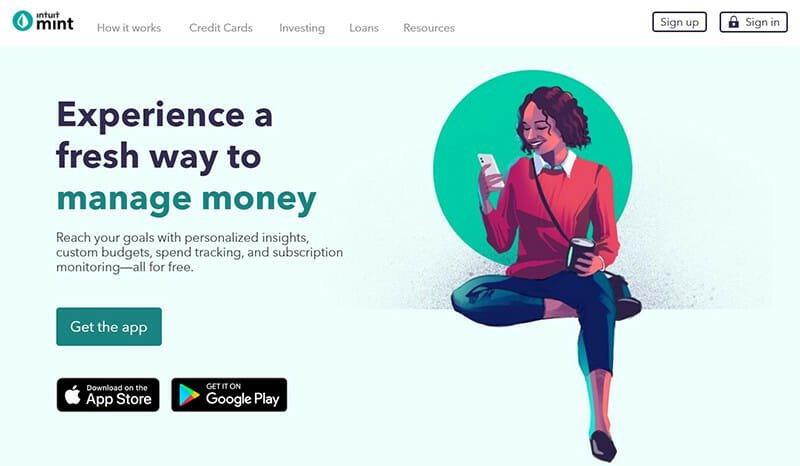Mint is the Best Financial Goal Software for Budgeting