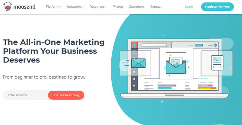 Moosend is the Most Comprehensive Email Newsletter Tool