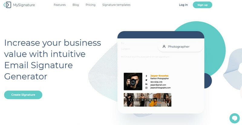 MySignature is the Best email signature generator for branded corporate email signatures