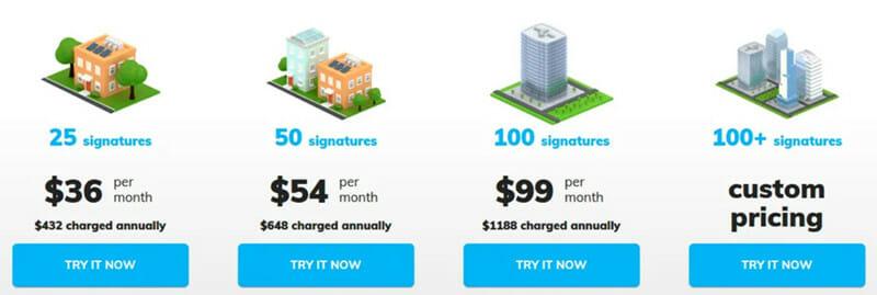 Newoldstamp Pricing Plan