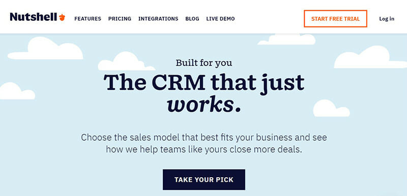 Nutshell is the best HubSpot Alternative with CRM for Small Businesses.
