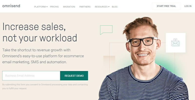 Omnisend Omnichannel Email Marketing Software for eCommerce, SMS, and Automation