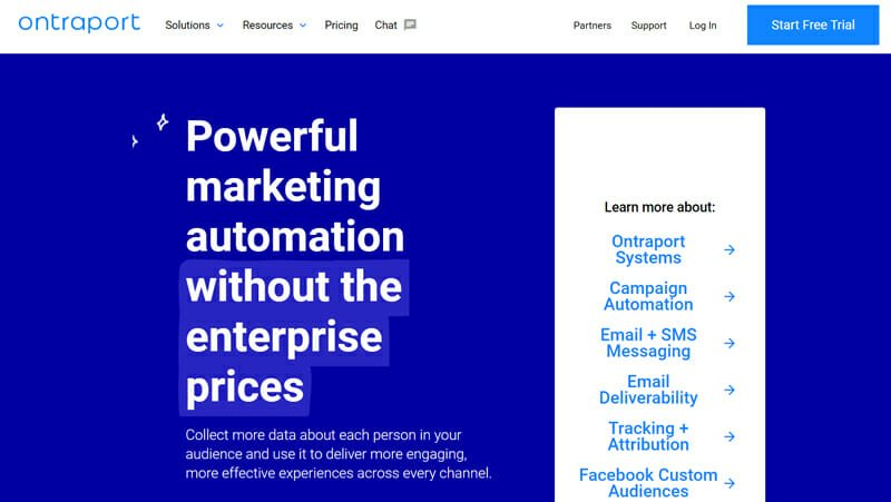 Ontraport Email Marketing Software with Unlimited CRM for Large and Small Businesses