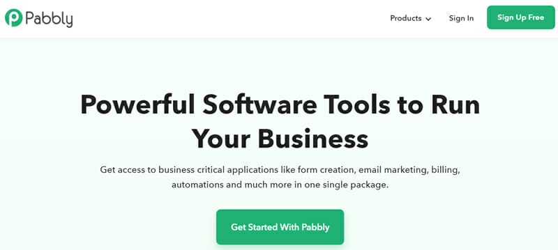 Pabbly is the Most Suitable Email Marketing Platform with Robust Subscription Management For Small Scale Businesses.