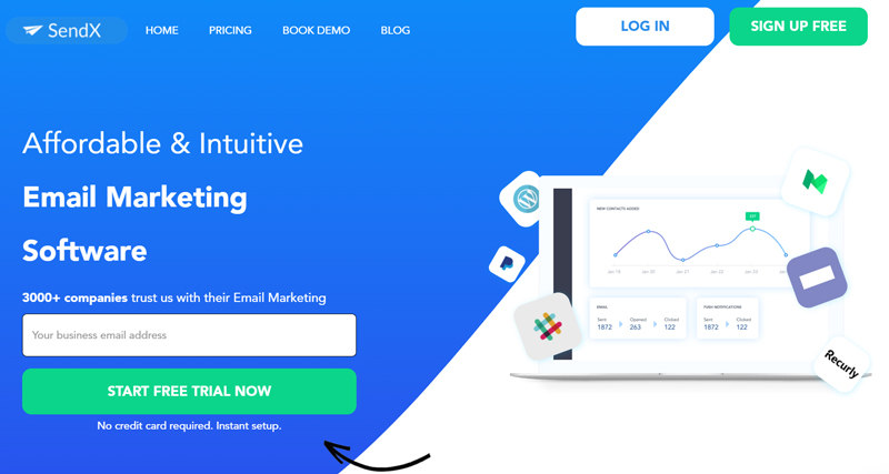 SendX is the Most Versatile Email Marketing Platform for Startups and SMEs Looking to Boost their Business ROI.