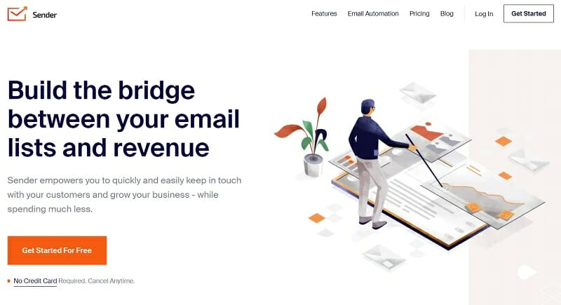 Sender.net - Build the bridge between your email lists and revenue