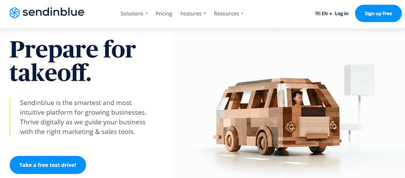 Sendinblue is the Budget Friendly HubSpot Alternative for Growing Small Businesses.