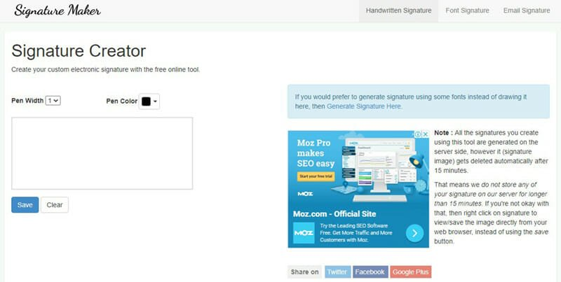 Signature Maker is the Best free email signature generator for customizable email signatures for business and personal use