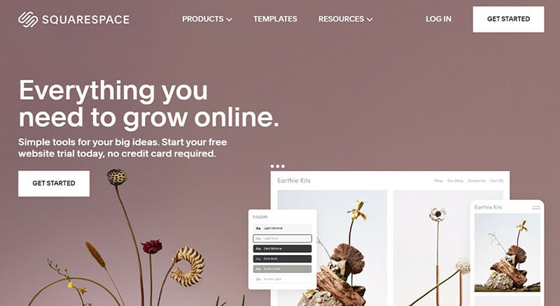 Squarespace is the Best Bluehost Alternative for Creating Visually Appealing Professional Websites