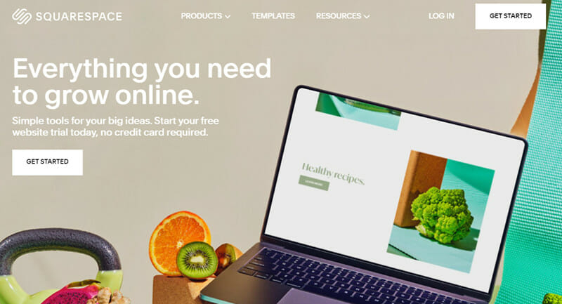 Squarespace is the Best website builder for non programmer customers that want a high quality and high security platform