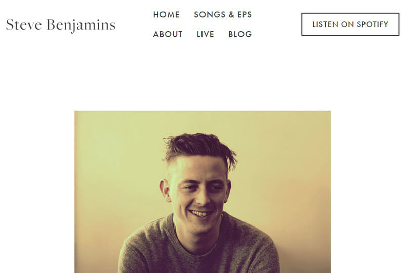 Steve Benjamins is a website of a Singer and songwriter who enjoys making emotional songs.