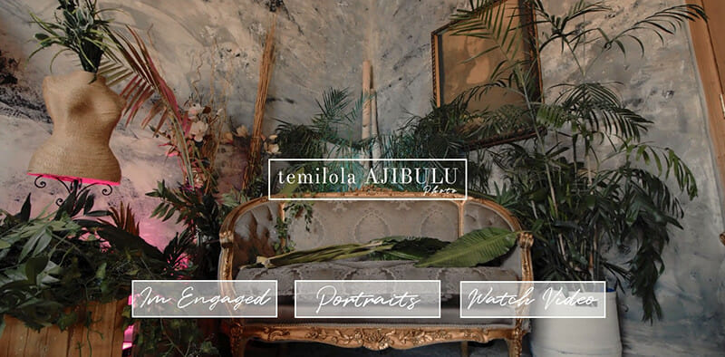Temilola Ajibulu is a website of Fantastic photographer for luxury weddings and portraits