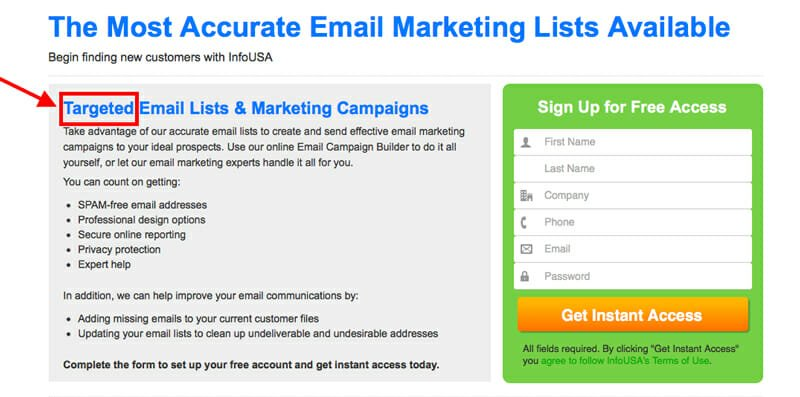 The Most Accurate Email Marketing list
