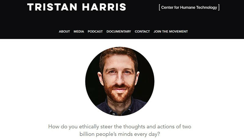 Tristan Harris is a Software Developer  who wants to align humanity with technology .