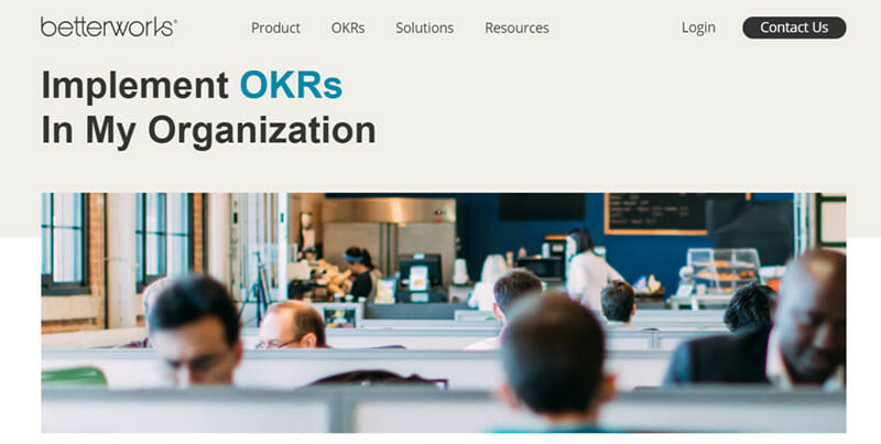 Betterworks is the Best OKR Software with Interactive Dashboard for Teams.