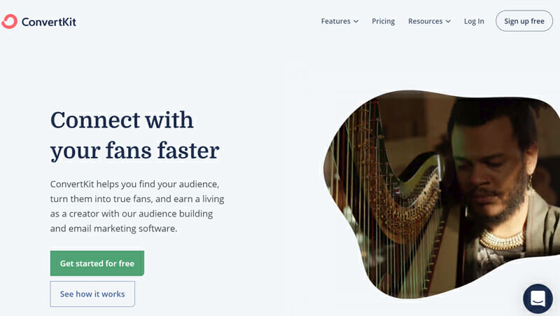ConvertKit is the best Email Newsletter Tool For Content Creators