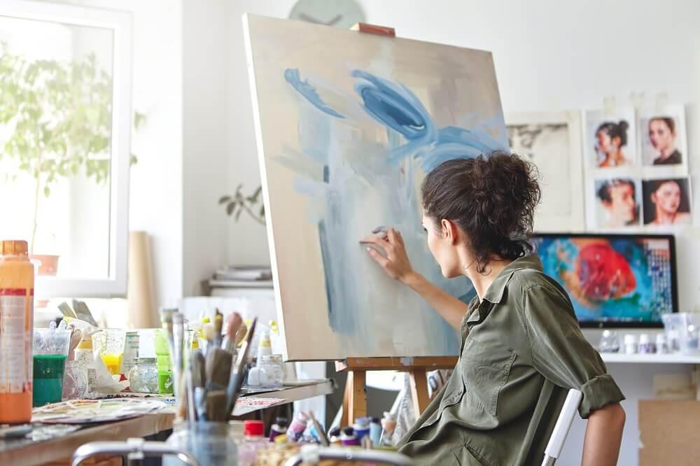 Examples of Beautiful Artist Websites