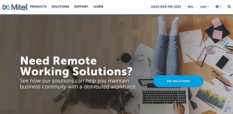 Mitel is the most Suitable RingCentral Alternative for Remote Work and IT Teams