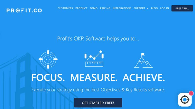 Profit.co is the Most Intuitive OKR Software
