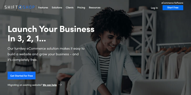 Shift4Shop is the best eCommerce website builder with robust features to launch online stores quickly