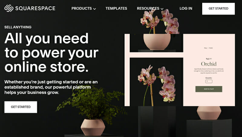 Squarespace Commerce is the best online store builder for those looking for sleek storefronts